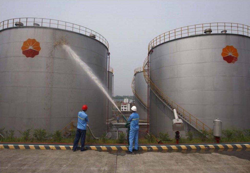 oil-tanks